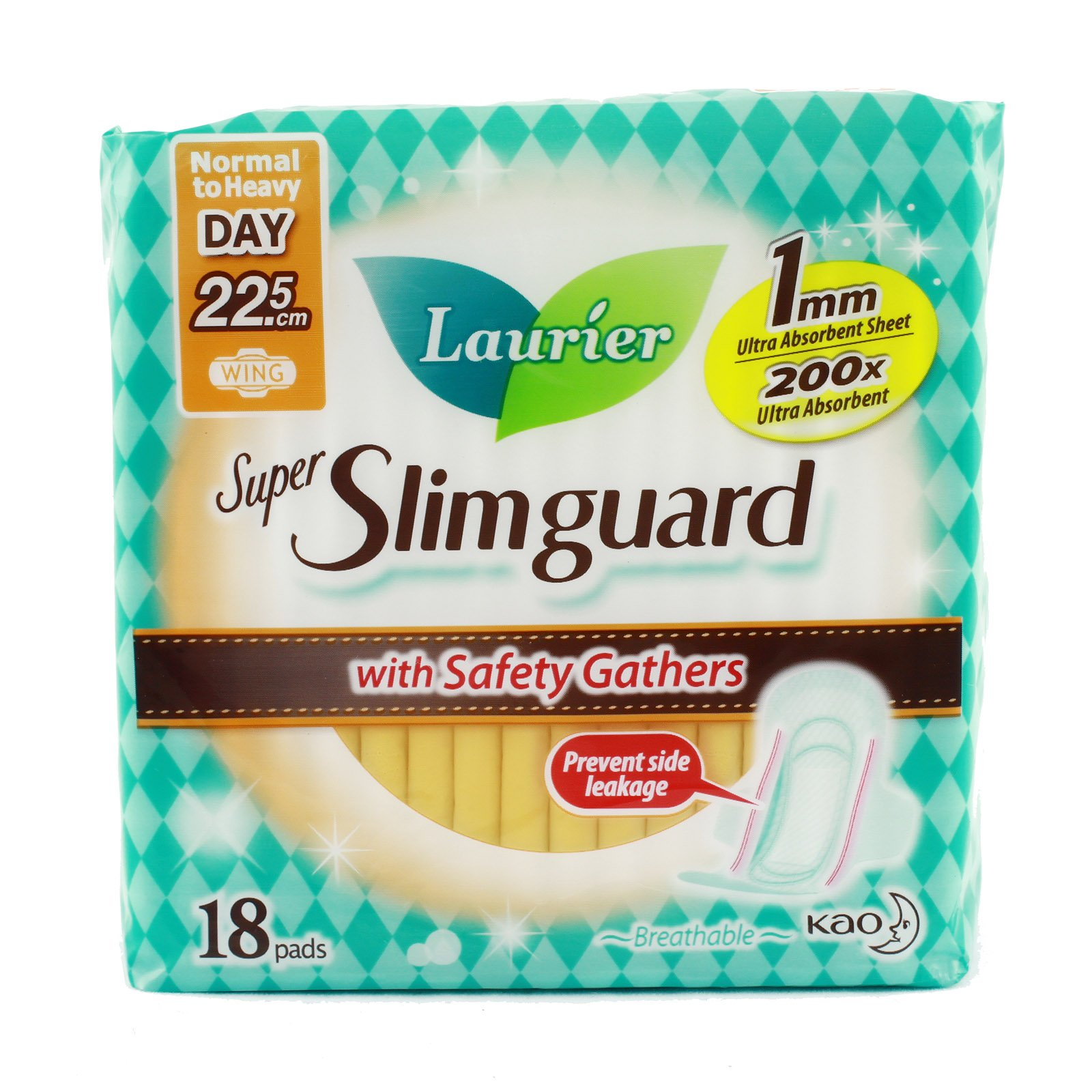 Buy Best Laurier Super Slimguard Day Wing Sanitary Pads Healthy Skin Night 35cm 6s 225cm