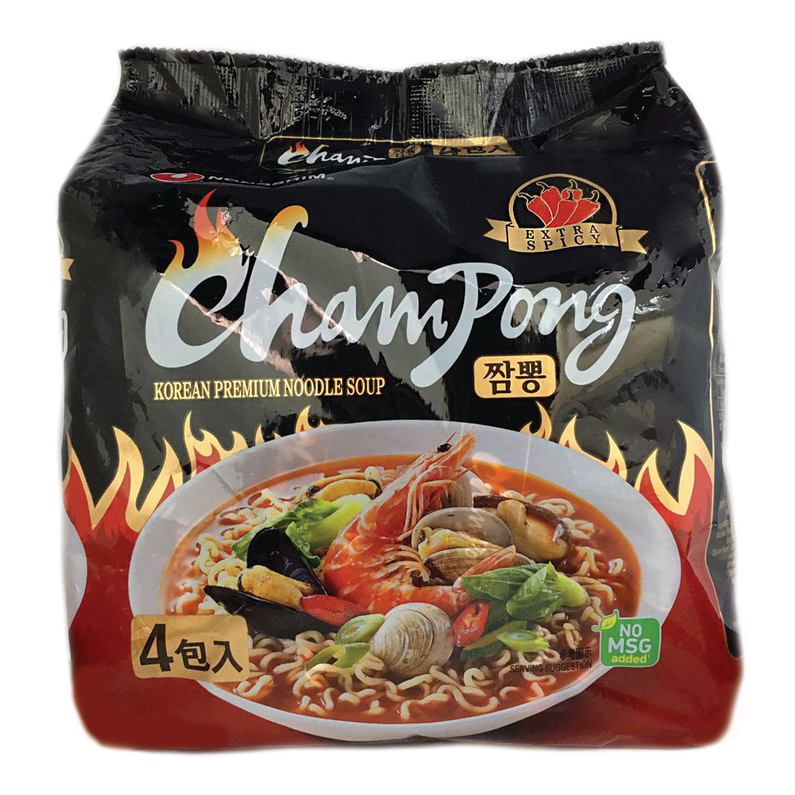 ad329662c850 Buy Nongshim Champong Spicy Cuttlefish Flavor Premium Instant Noodle ...